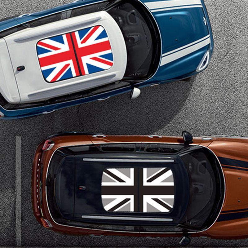 Union Jack Auto KK Schiebedach Aufkleber Auto Dach Aufkleber Für MINI Cooper One S JCW F54 F55 F56 R55 R56 r60 F60 Countryman Zubehör