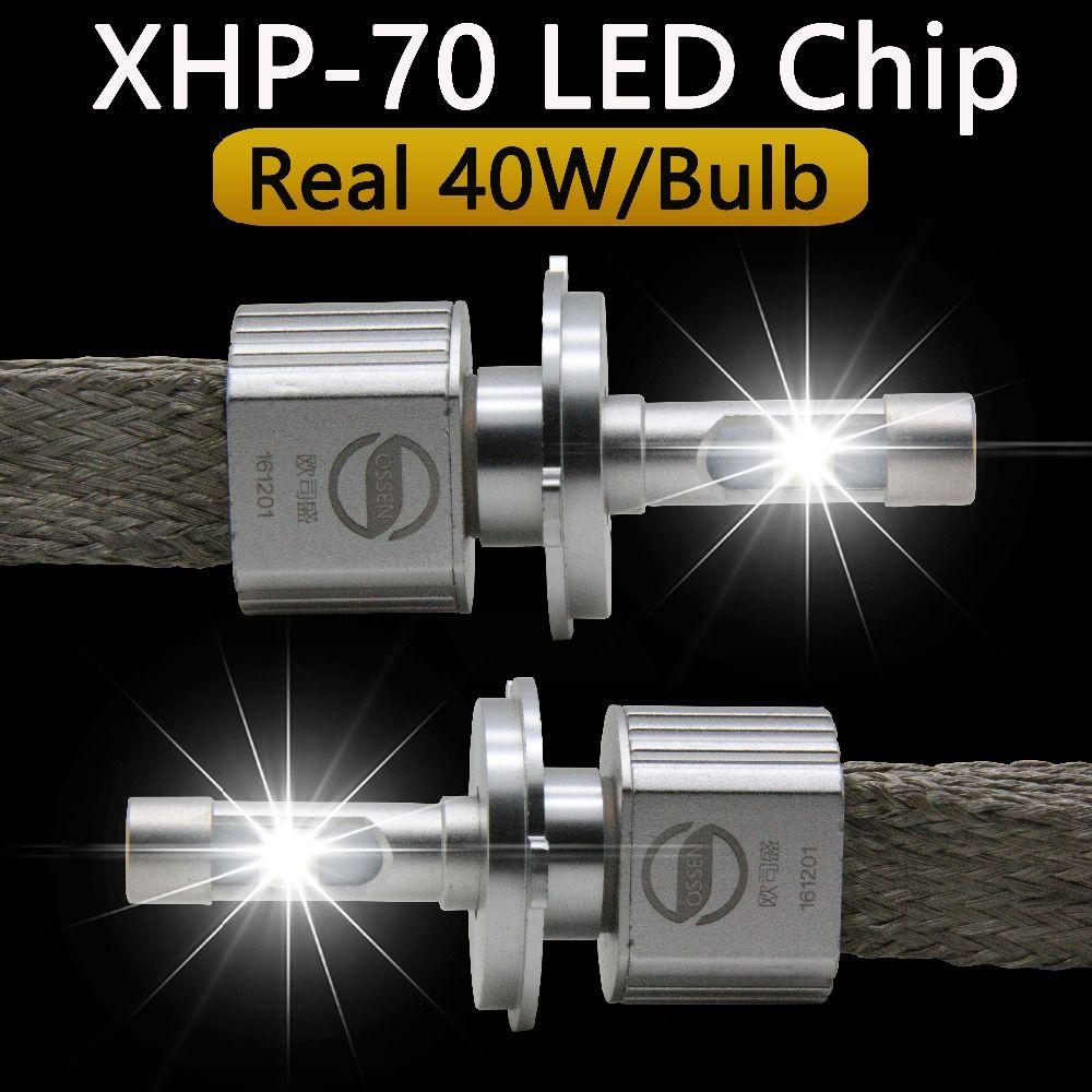 P70 XHP70 Auto Led-scheinwerfer H4 Hallo Lo 55 Watt XHP-70 chips 6600LM H4-3 High Abblendlicht Motorrad Scheinwerfer Birne H7 H11 9005 9006 9012