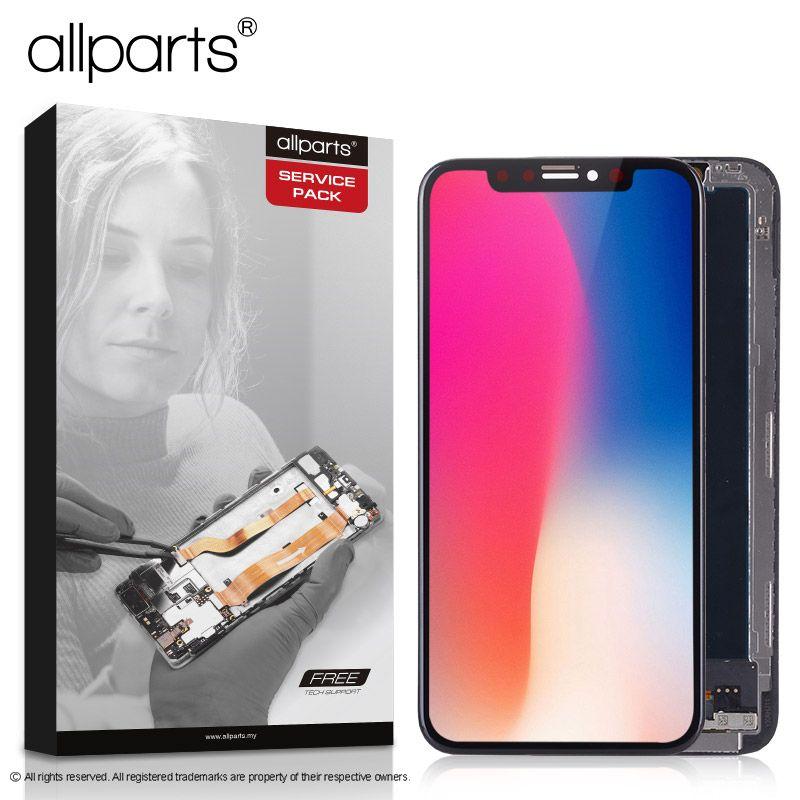 5,8 zoll Echt AMOLED Display Für iPhone X LCD Touch Screen Montage mit Rahmen Ersatz Für iPhone X LCD Display modul