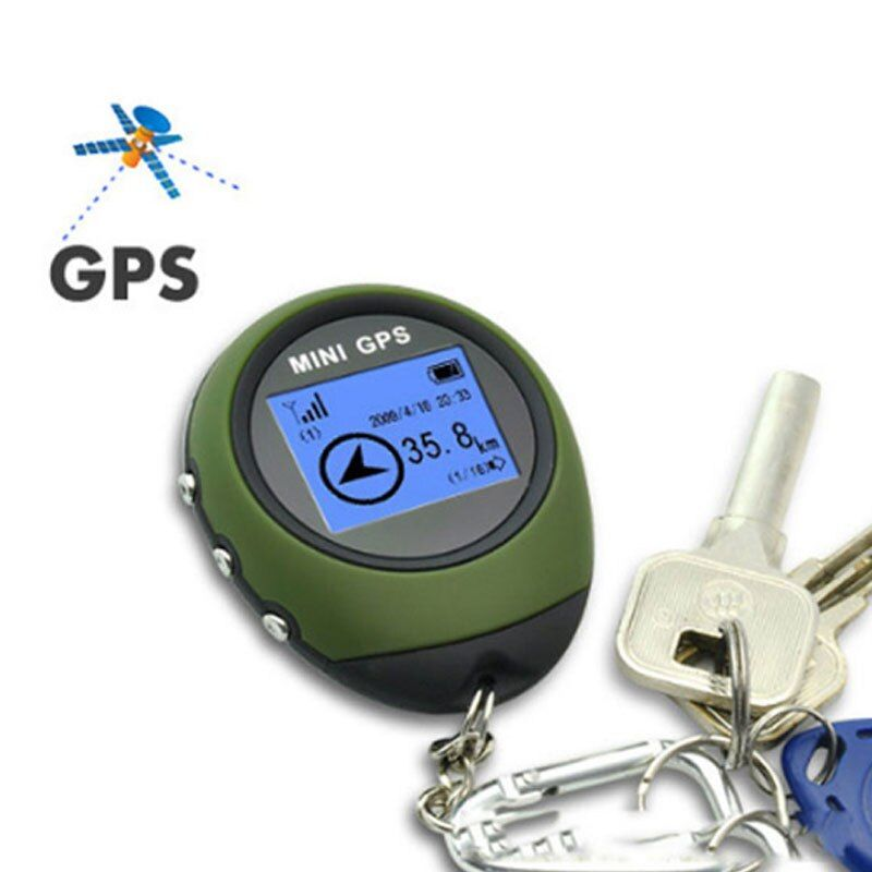 GPS Empfänger & Lage zuverlässige Tracker Handkeychain USB Wiederaufladbare Echtzeit-tracking-gerät Für auto Outdoor-reisen