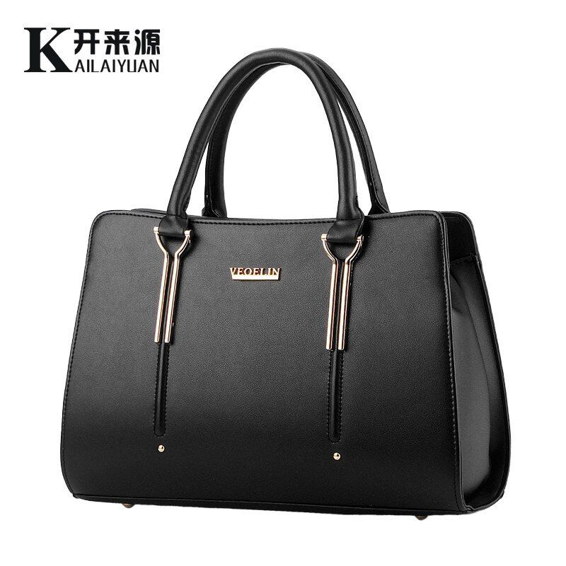 KLY 100% Genuine leather Women handbag 2018 New bag female sweet lady stereotypes fashion handbag Crossbody Shoulder Handbag