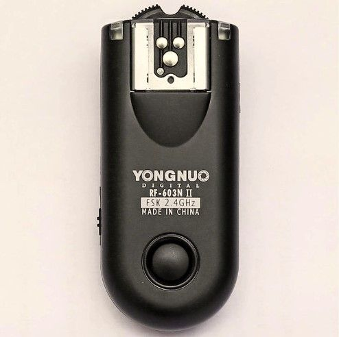 Yongnuo RF-603 II C3,RF 603 II Wireless Flash Trigger 1 Transceiver for 560III 560IV CANON 7D 700D 70D 5D II 5DIII 50D 600D
