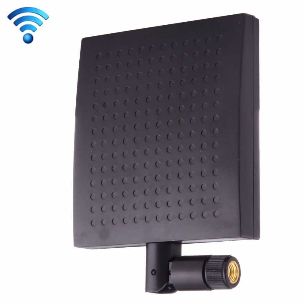 12dBi SMA Male Connector 2.4GHz Panel WiFi Antenna