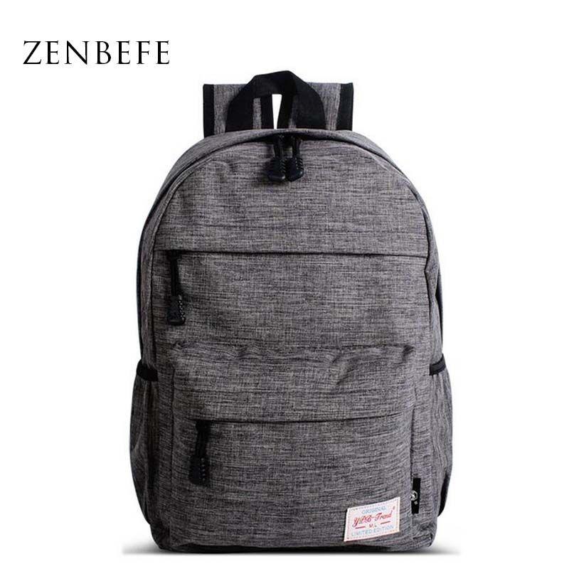 Zenbefe маленький рюкзак для Обувь для мальчиков качества школьная сумка для мальчика подростка Начальная школа Студенты Bookbag ребенок Рюкзаки ...