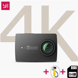 YI 4 K Экшн-камера Ambarella A9SE ARM 4 K/30 2,19