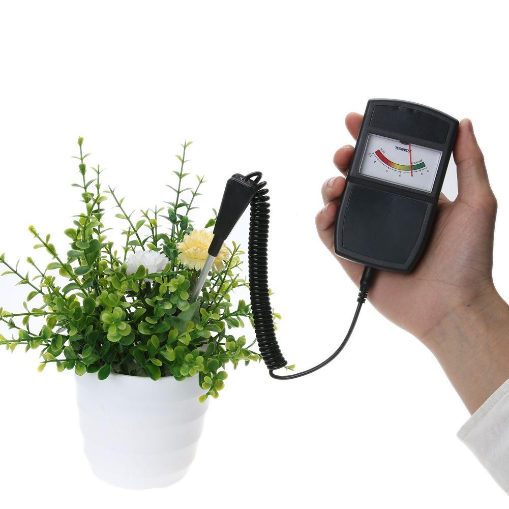 2.5-10.0pH testeur de niveau de pH du sol pour plantes cultures fleurs acidité végétale humidité PH mesure outils de jardin