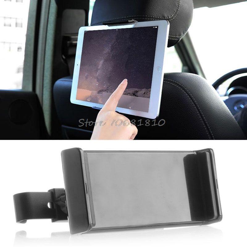 360 Degrés Universal 8 ~ 10 pouce De Voiture Siège Arrière Tablet Support De Voiture Stand Cradle pour ipad 2 3 4 5 6 pour Samsung tab 2 3 4 Z07