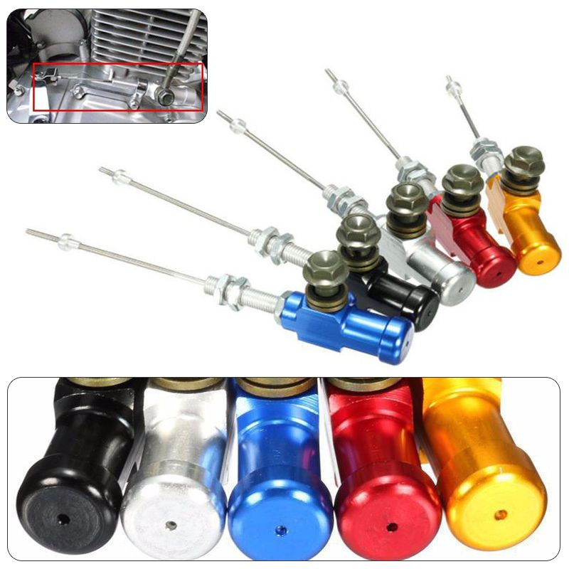 MAYITR New Motorcycle Aluminum Pull Hydraulic Clutch Master Cylinder Brake Pump Rod System Performance Efficient Transfer Pump