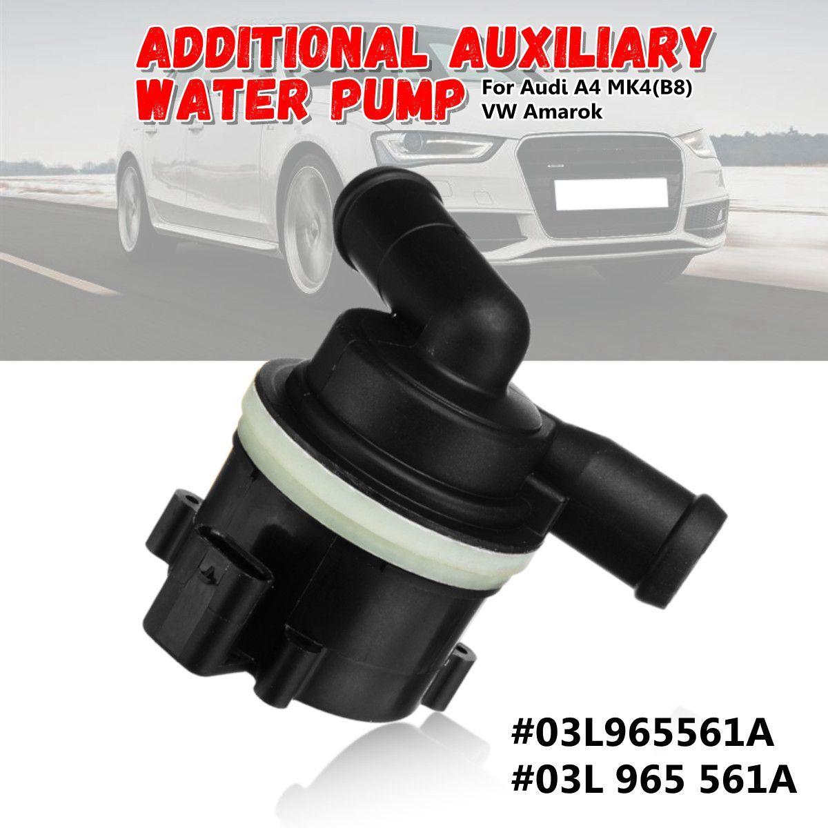 03L965561A 03L 965 561A Sekundäre Kühlmittel Zusätzliche Hilfs Wasser Pumpe für Audi A4 MK4 (B8) für VW Amarok 2008-2015