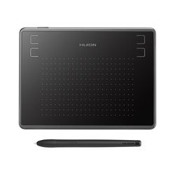 Huion H430P Digital Tablet Micro USB Tanda Tangan Grafis Menggambar Pena Tablet Osu Permainan Baterai Tablet Gratis dengan Hadiah