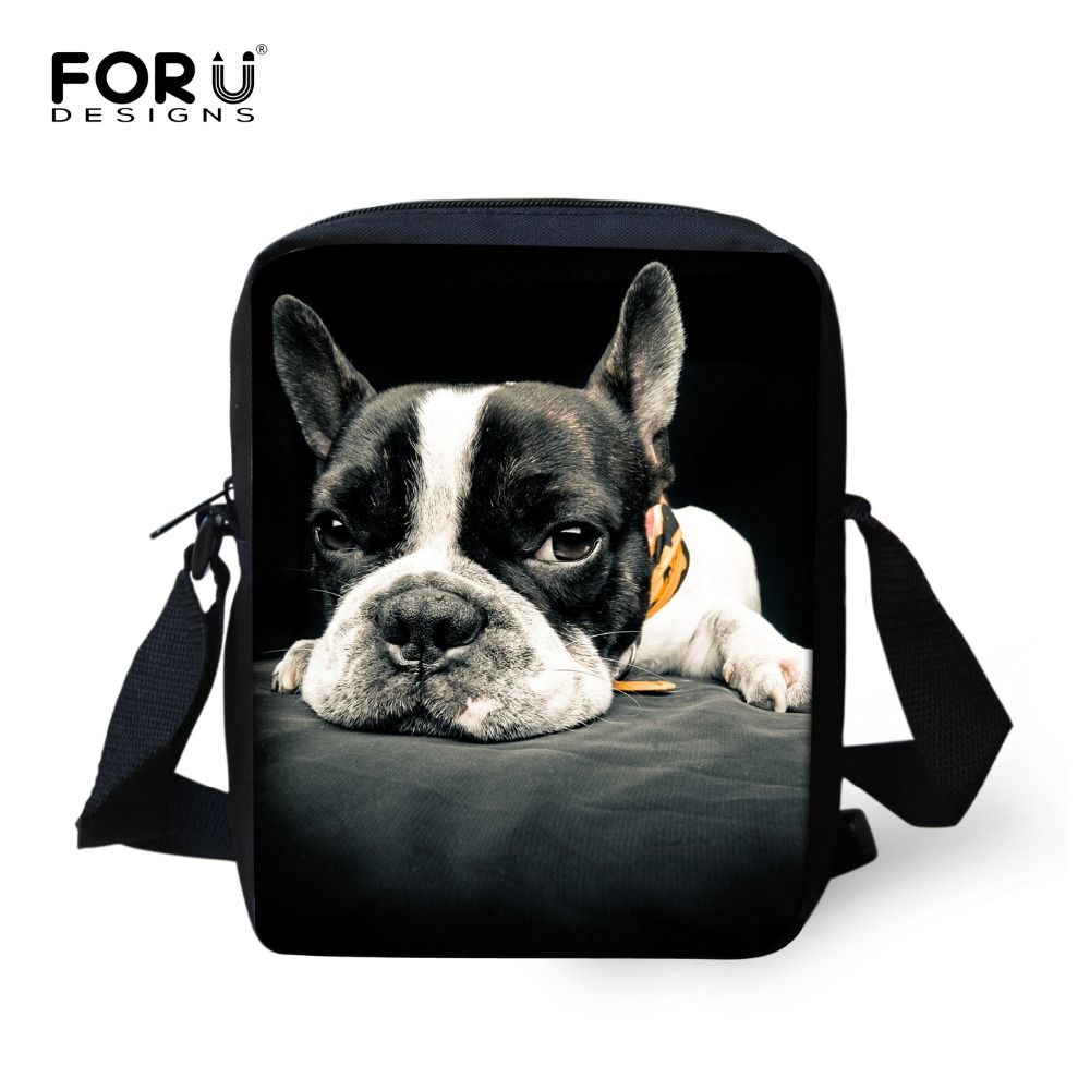 Marque Original Animal Messenger sac pour fille mignon bouledogue décontracté sac bandoulière dames espagne femmes Designer Bolsos Mujer