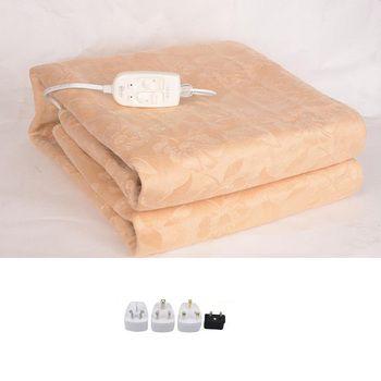 Роскошное Фланелевое электрическое одеяло Электрический матрас Электрическое одеяло толще с подогревом ковер Электрический коврик для те...