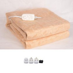 Luxury Flannel Electrical Blanket Electric Mattress Electric Blanket Thicker Heated Carpet Electric Mat Body Warmer Heater
