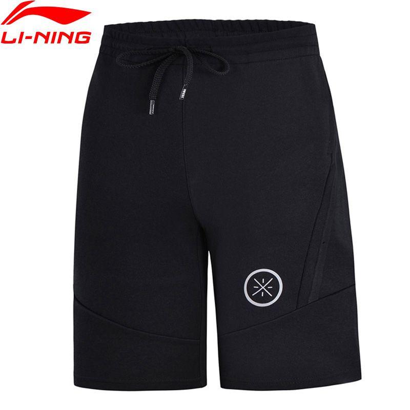 Li-Ning Men Wade Series Basketball Shorts 3D Fitting Regular Fit 69% Cotton 31% Polyester LiNing Sports Shorts AKSN149 MKD1551