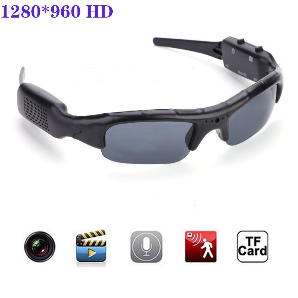 Sports Cam Recorder Digital Camera Sunglasses HD Glasses Eyewear DVR Video Recorder For Cycling/driving/skiing