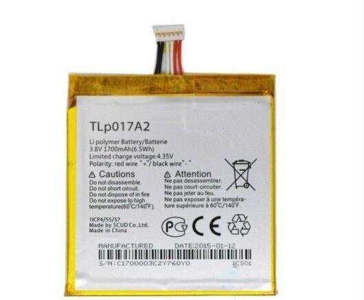 Mobile Phone Battery 3.8V 1700mAh TLp017A1 For Alcatel OT6012 One Touch Idol Mini 6012D 6012X 6012A 6012W TLp017A2 Batteria