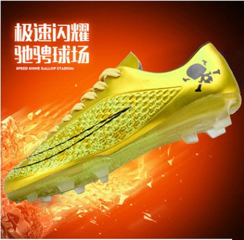 Enfants Chaussures de Football 2018 Nouvelle Arrivée Top Qualité Usine Directe Enfants sneakers Garçon Et Filles Ongle Cassé Chaussures de Sport Chine