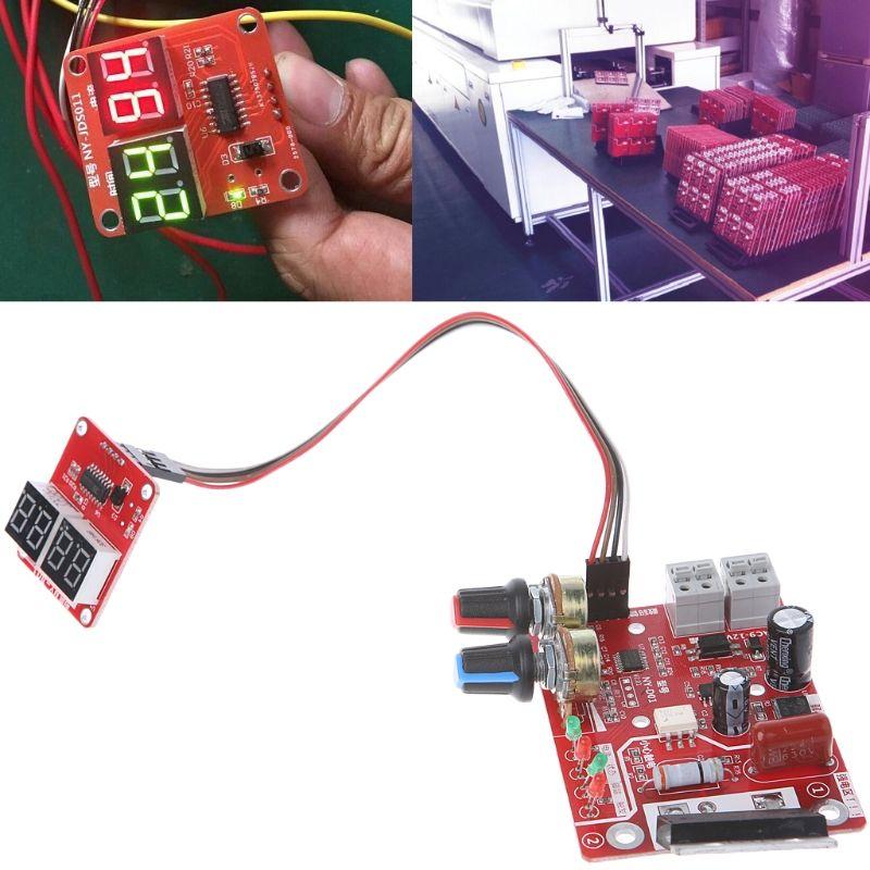 Spot Schweißer Zeit Control Board 100A Aktualisierung Strom Controller mit Digital Display