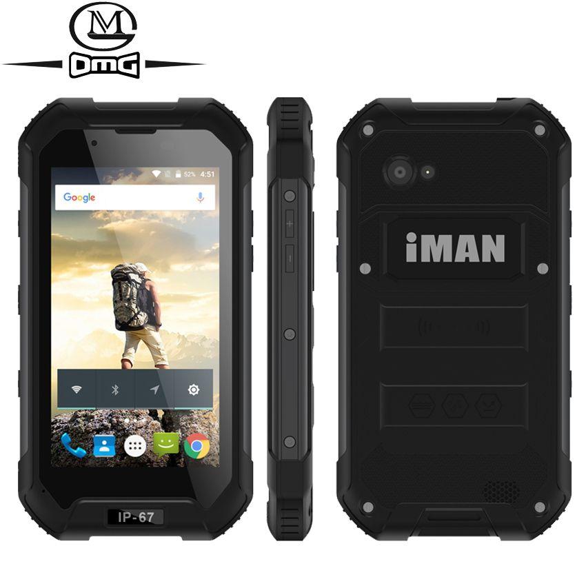 IMAN X5 IP67 Waterproof 3G Smartphone shockproof Mobile Phone 4.5