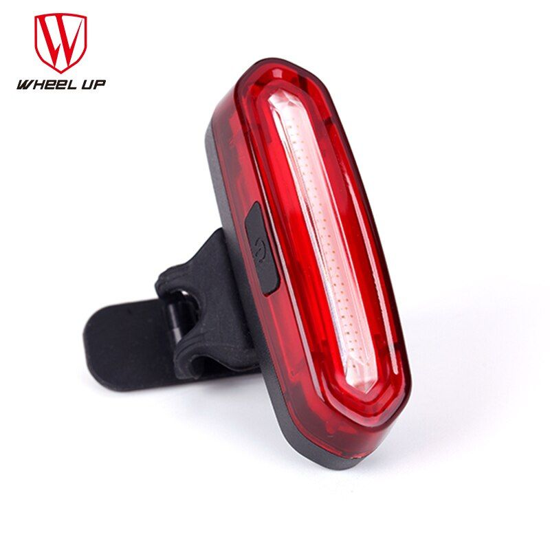 WHEEL UP 2017 Bike Taillight Waterproof Riding Rear light Led Usb Chargeable Mountain Bike Cycling Light Tail-lamp Bicycle Light
