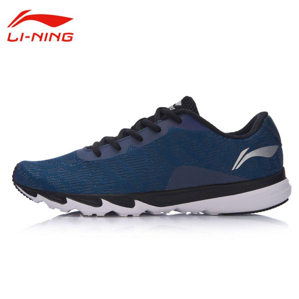Li Ning Männer Reflektierende Licht Laufschuhe Futter Atmungsaktiv Dämpfung Sport Turnschuhe Ning Explosion Laufschuhe ARBM117