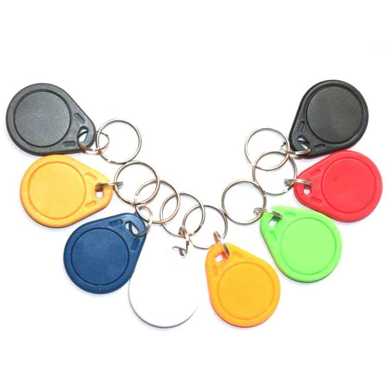 5pcs UID 13.56MHz IC Card Clone Changeable Smart Keyfobs Key Tags Card 1K S50 MF1 RFID Access Control Block 0 Sector Writable