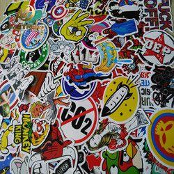 Mimiatrend 100 pcs Car Styling JDM decal Sticker for Graffiti Car Cover Skateboard Snowboard Motorcycle Bike Laptop Sticker Bomb