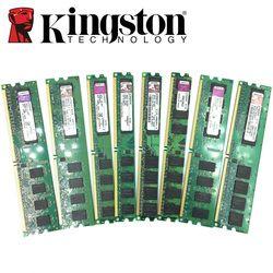 Kingston PC de escritorio Memoria RAM Memoria módulo DDR2 800 667 MHz PC2 6400 1 GB 2 GB 4 GB 8 GB DDR3 1333 1600 MHz PC3-12800 10600