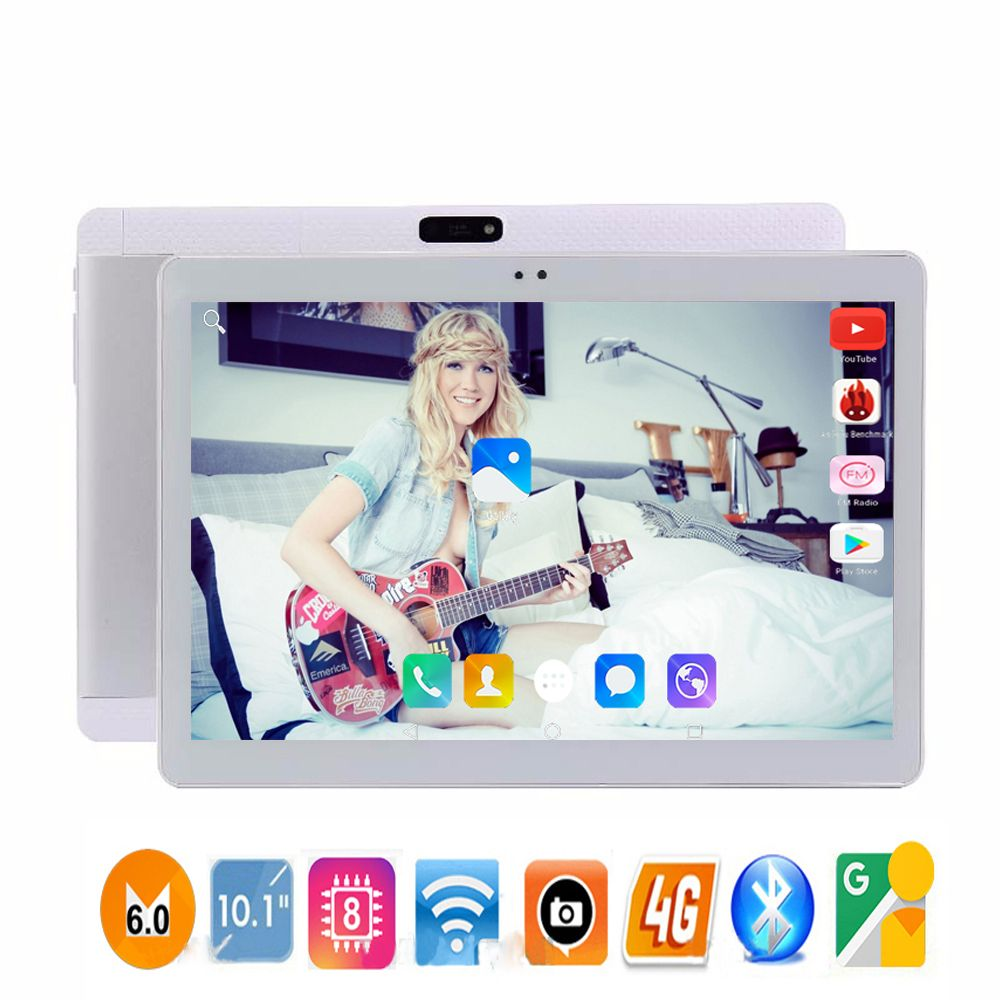 2018 Newest 10 inch 4G Lte Tablet PC HD 1920*1200 IPS 10 Core 32GB ROM Dual SIM Android 7.0 IPS tablets PC 10
