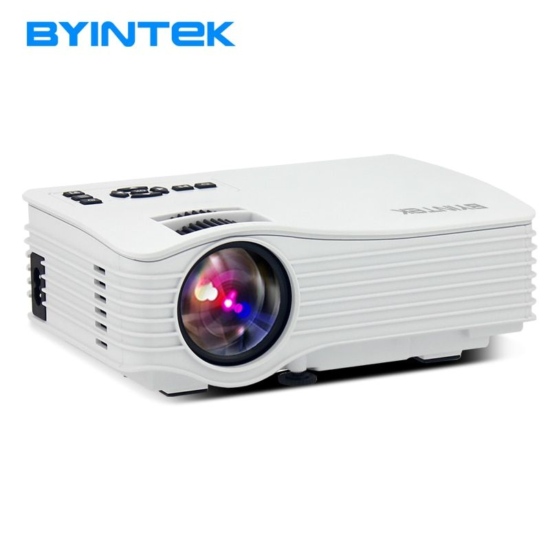 BYINTEK ML220 Portable Mini Projector Video LCD Digital HDMI USB AV SD LED Projector Home Theater Support 1080P Cinema Proyector