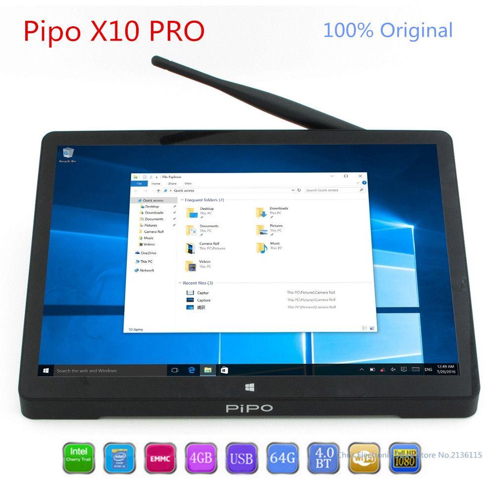 PiPo X10 Pro Mini PC Dual OS Android Windows 10 MiniPC Andriod intel Z8350 Quad Core TV Box 4G 64G WiFi Pipo X10Pro Set Top Box
