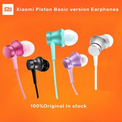 HOT Original Xiaomi Piston 3 Earphones Youth Colorful Edition 3.5mm 3rd Bass Earphone Basic Version Headset with Remote & Mic