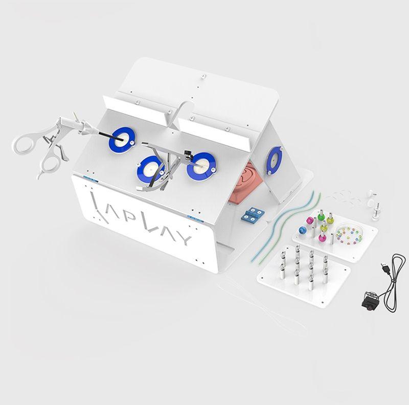 Laparoskopische Chirurgie Training Box Paket Simulierte Chirurgische Ausrüstung Hohe Qualität Instrument Trainer Chirurgische Instrument