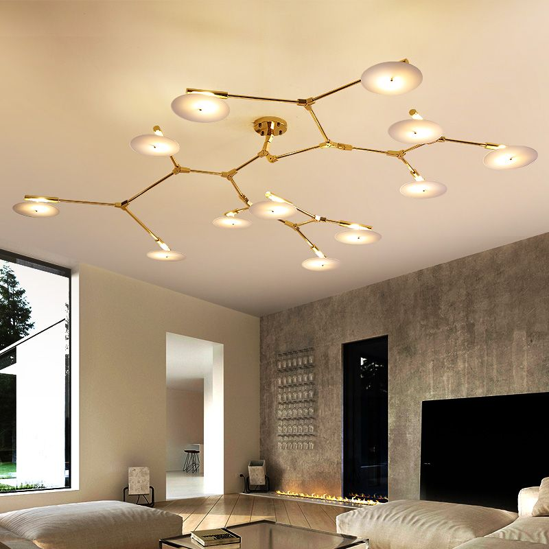 American Vintage Ceiling Lights lamps for Living Room bedroom luminaria de teto modern Ceiling lamp Home Lighting