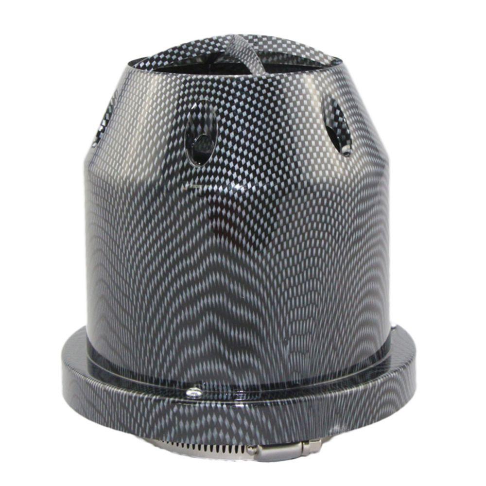 IZTOSS Universal Car Truck Air Filter Cold Air Intake Filter Cleaner 76mm Dual Funnel Adapter 2017