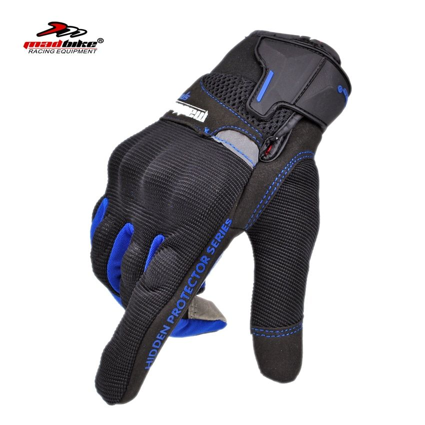 Madbike motorcycle gloves touch screen Summer Guantes motocicleta Glove Full Finger Motorbike Cycling Racing motocross Luvas