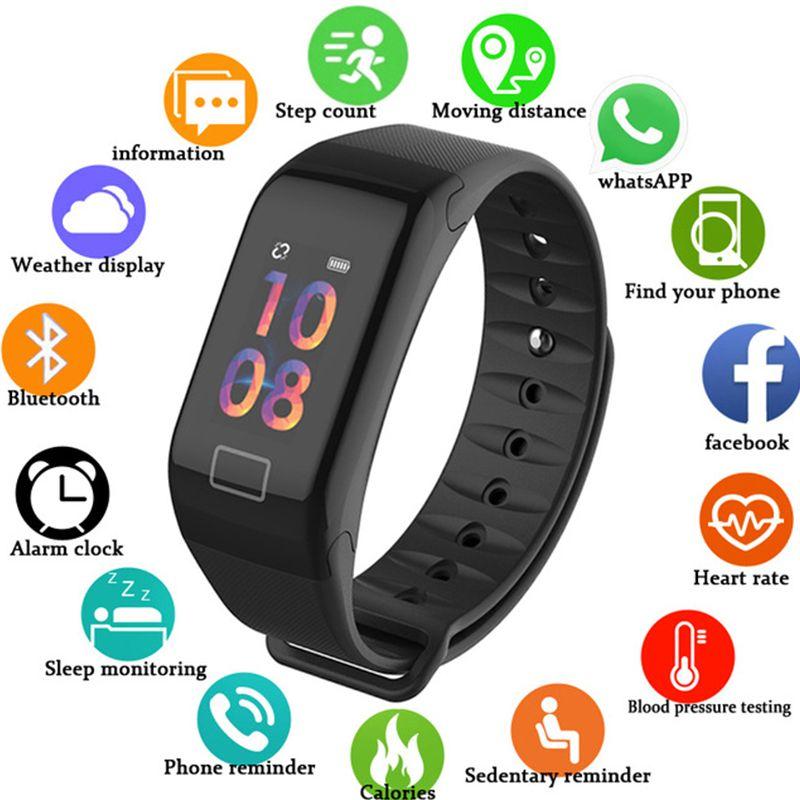 Sport Armband Armband für Samsung A10 A20 A20e A30 A40 Nachricht Erinnerung Rate Zeit Band Smart Uhr Für Galaxy A50 a60 A70 A80