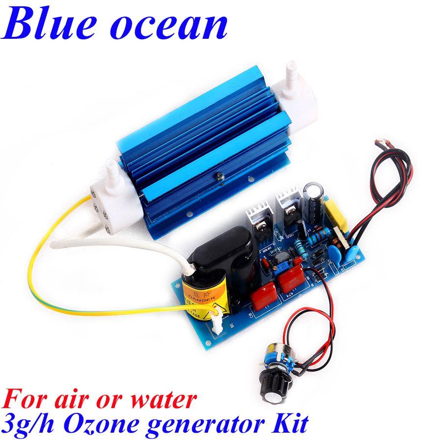 Ce FCC 3 g/h générateur d'ozone réglable pour le traitement de l'eau otsoni