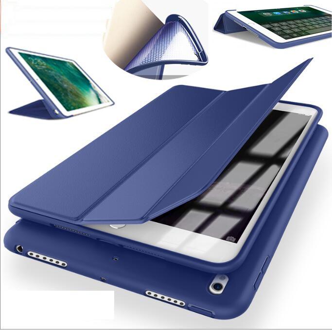 SUREHIN doux coque en silicone pour ipad pro apple 10.5 11 couverture slim case mince manches tpu magnétique de protection smart case peau