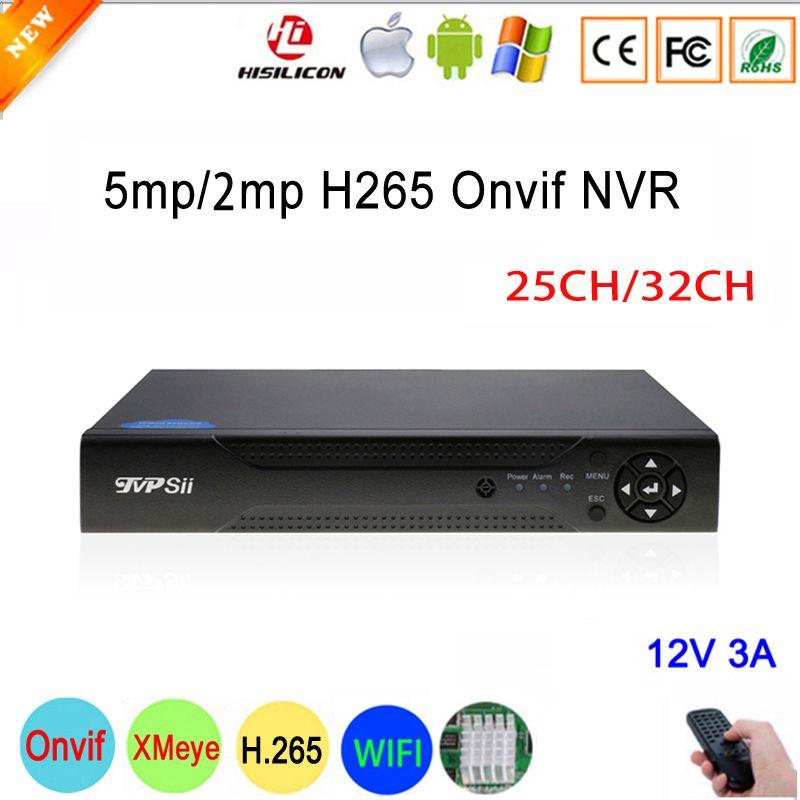 5MP/4MP/1080 P/960 P/720 P IP Kamera Dahua Panel Hi3536D Xmeye 25CH 5MP /32CH 2MP H.265 Überwachung IP Onvif NVR Kostenloser Versand