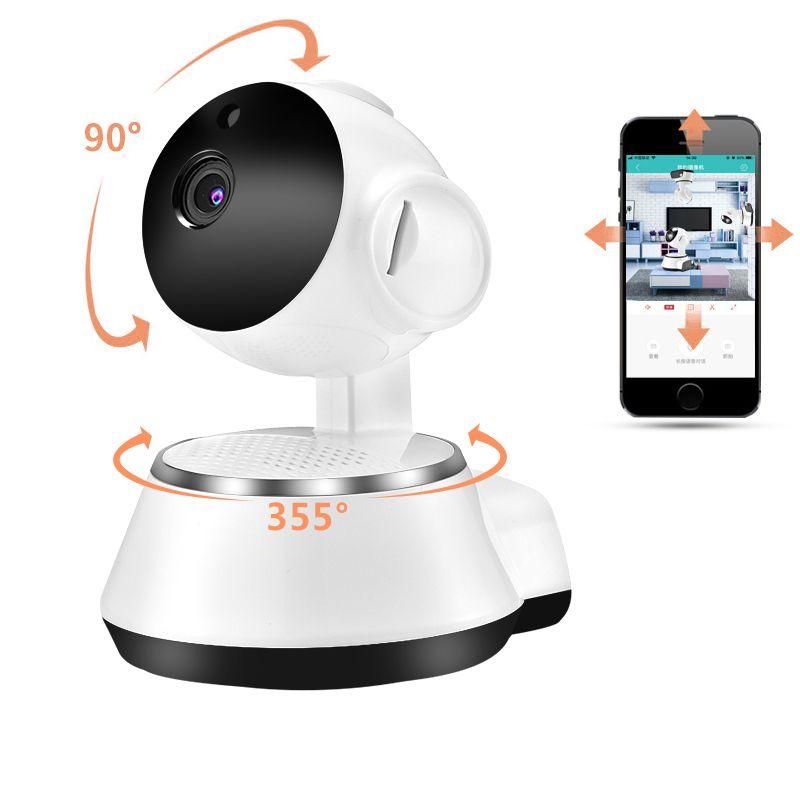 Accueil caméra de sécurité wifi Sans Fil caméra ip intelligente WI-FI Enregistrement Audio caméra de surveillance cctv HD Mini moniteur pour bébé