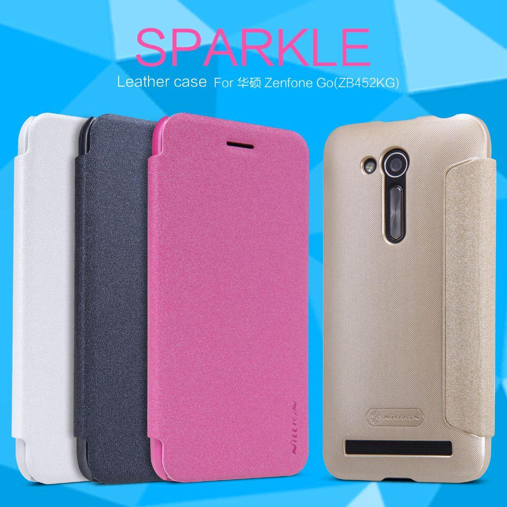 Pour Asus Zenfone Go (ZB452KG) cas Nillkin Étincelle étui Asus ZB452KG coques de téléphone étui de protection arrière