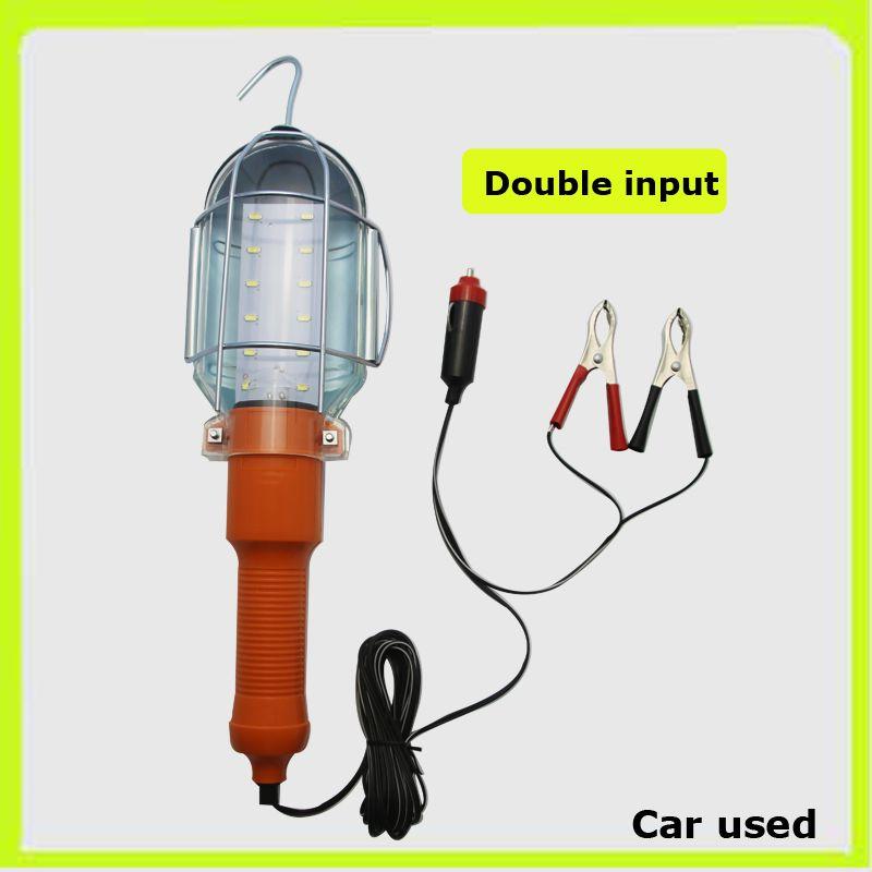 12V 12*5730SMD portable spotlights LED hand lamps led work lamp Luz trabajo LED emergency light led inspection for car repair