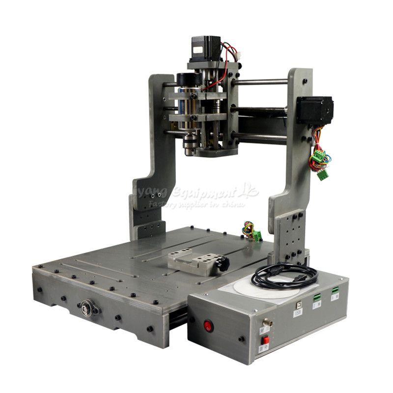 300W CNC Router Machine CNC3040 CNC Cutting Machine Mini Lathe, free tax to Russia countries