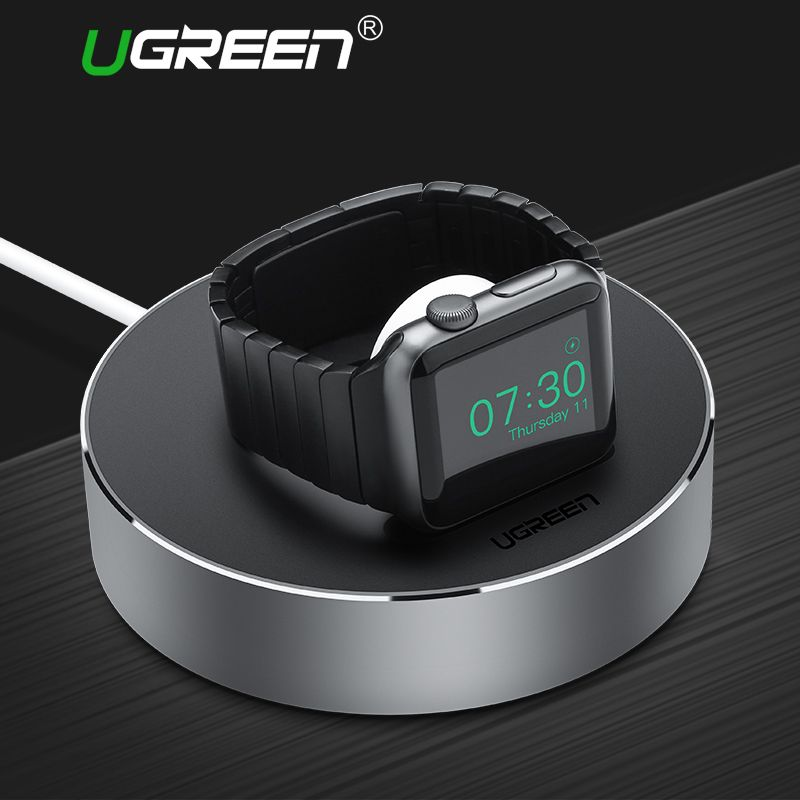 Ugreen Charge le Support de Stand pour Apple Montre 38mm 42mm Chargeur Dock Station pour Apple Montre Série 3 & 2 & 1 Charge titulaire