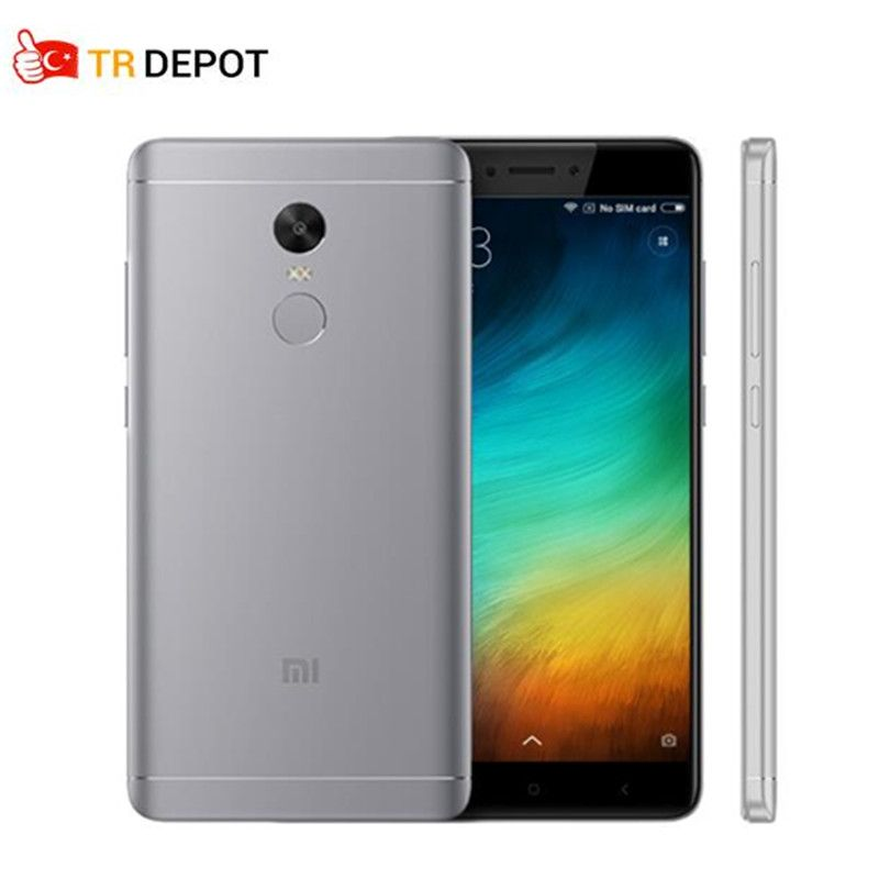 Original Xiaomi Redmi Note 4X 3GB 32GB Snapdragon 625 Octa Core 13.0MP Camera Metal Body Global ROM OTA Mobile Phone 1080P
