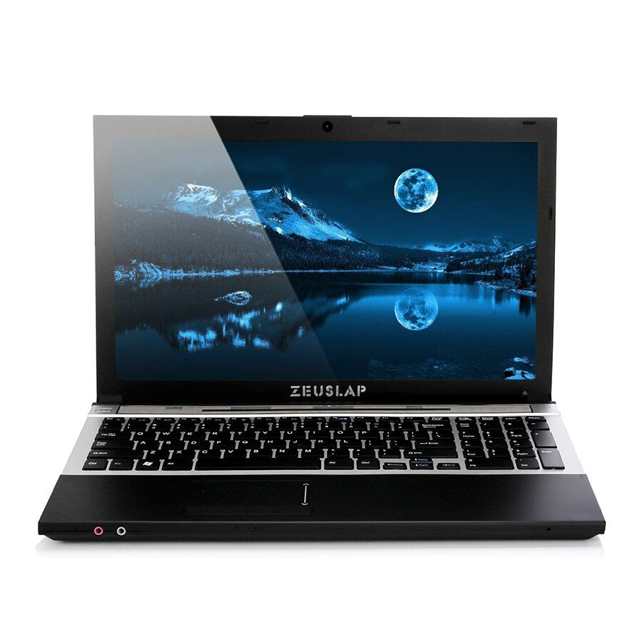 15.6inch intel i7 CPU 8GB Ram+500GB HDD 1920x1080 screen DVD Rom WIFI bluetooth Windows 10 System Notebook Laptop Computer