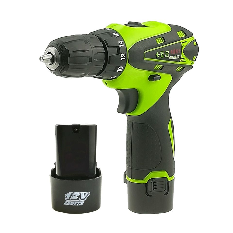 12V Electric Screwdriver Rechargeable Lithium Battery Parafusadeira Furadeira Cordless Screwdriver Two-speed Power Tools
