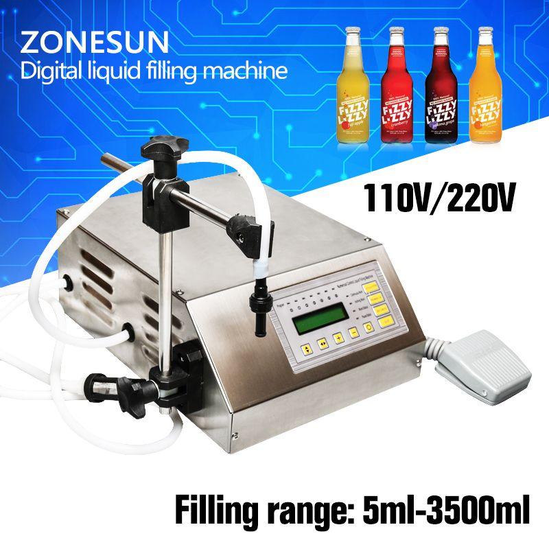 Digital electrical liquids filling machine,water pumping filler,automatic beverage packaging equipment,3.5L