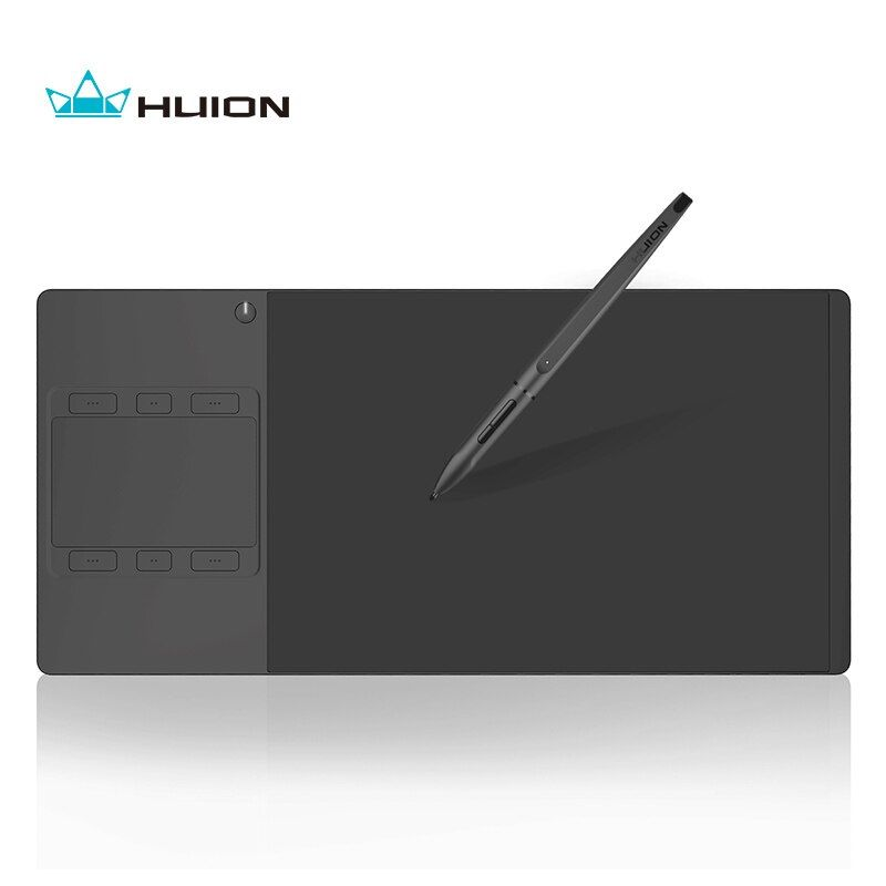 New Huion INSPIROY G10T Wireless Digital Tablet Pen and Touch Graphic Drawing Tablet With a Drawing Glove Gift